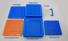 capsule filling plates
